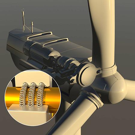 Усовершенствование конструкции ветряной турбины