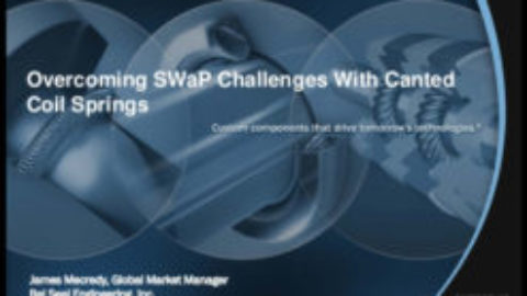 Overcoming SWaP Challenges With Canted Coil Springs