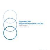 Polyimide-Filled Polytetrafluoroethylene (SP191)