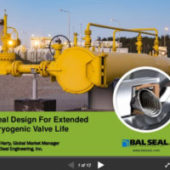 Optimizing Seal Design for Cryogenic Valves