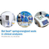 Bal Seal® spring-energized seals in clinical analyzers