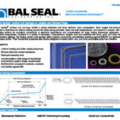 Bal Spring® Canted Coil Springs in Lengths and Welded Rings