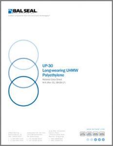 Longwearing UHMW Polyethylene