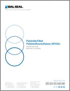 Material Data Sheet: Polyimide-filled PTFE