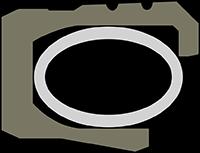 Polymer-filled PTFE