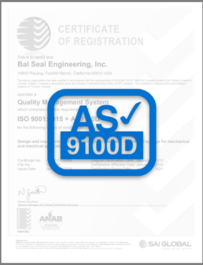 ISO 9001 + AS9100D