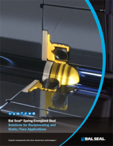 Bal Seal® Reciprocating and Static Seals