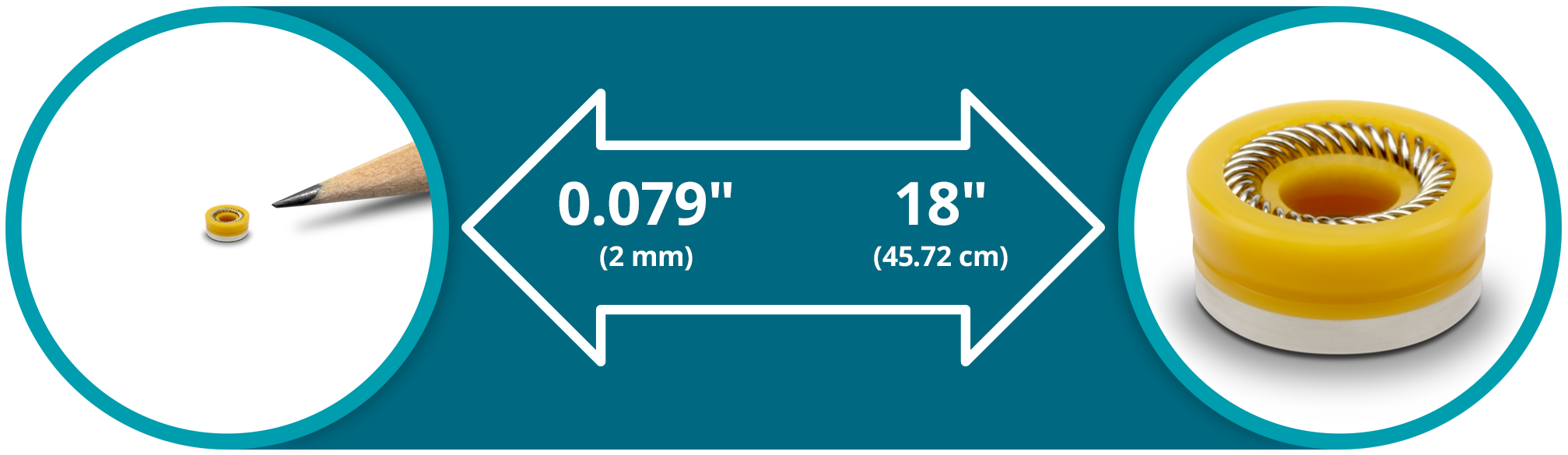 Enduris Seal Sizes