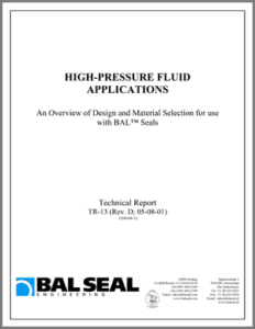 High-Pressure Fluid Applications