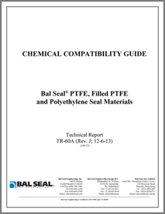 Bal Seal® Chemical Compatibility