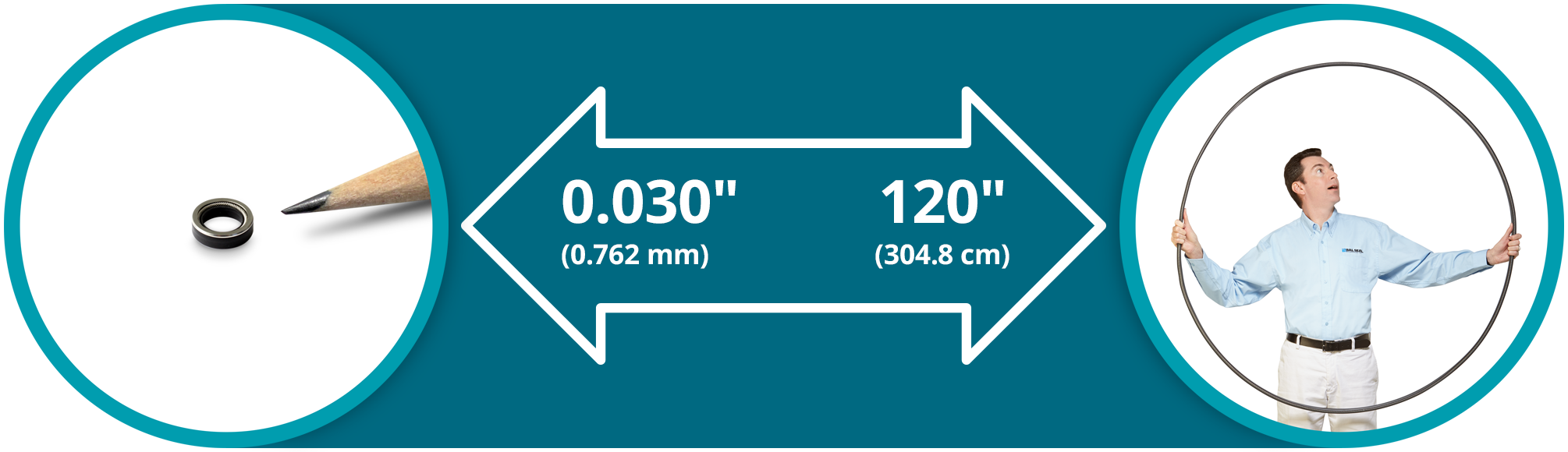 Rotary Seal Sizes