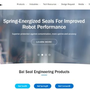 New Bal Seal Engineering Website