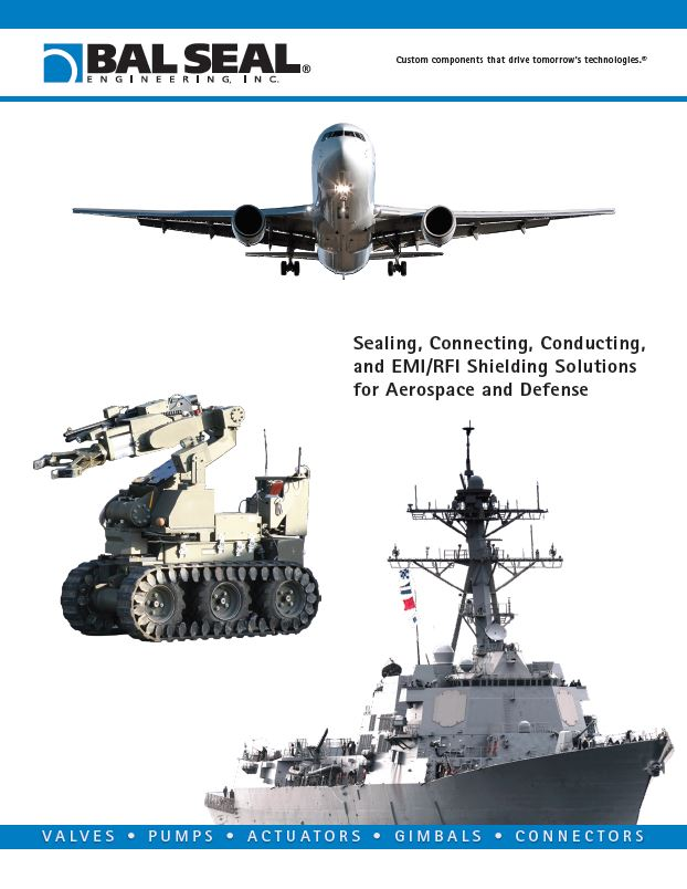 Bal Seal Engineering solutions for Aerospace and Defense