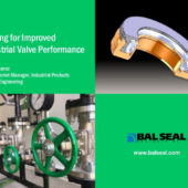 Presentation: Sealing for Improved Industrial Valve Performance