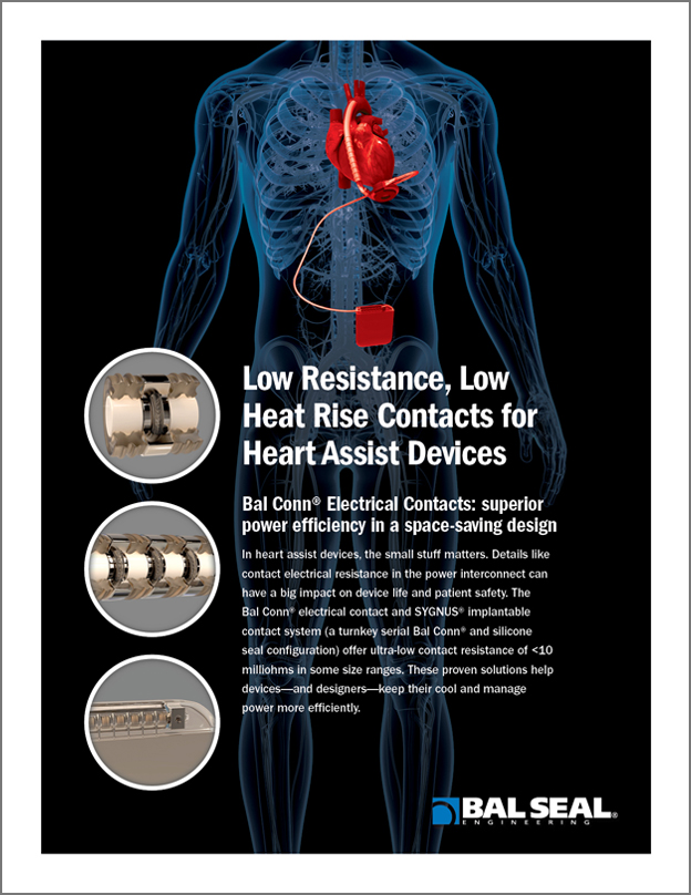 cover Contacts for Heart Assist Devices