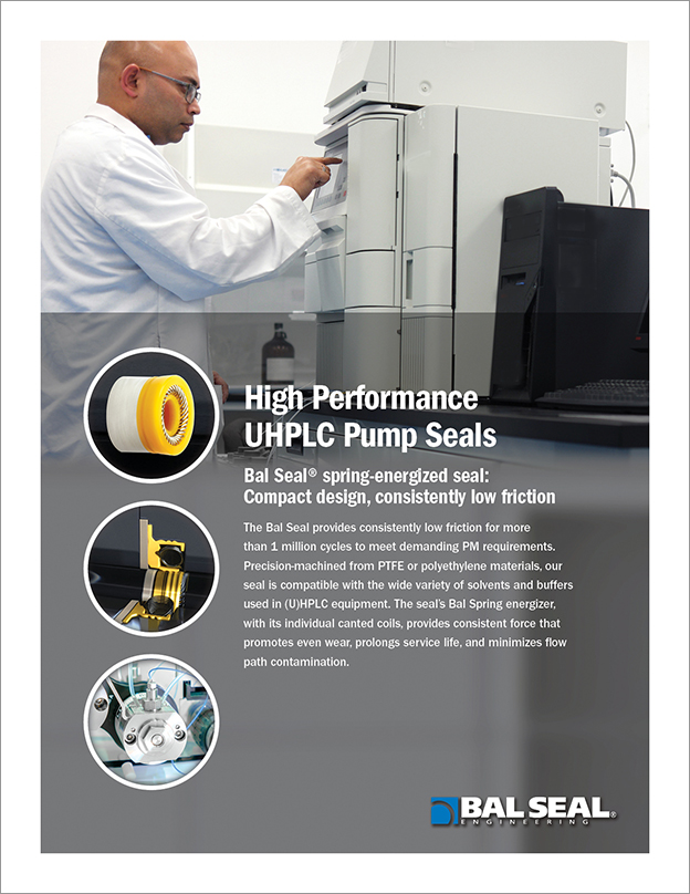Cover Image High Performance UHPLC Pump Seals